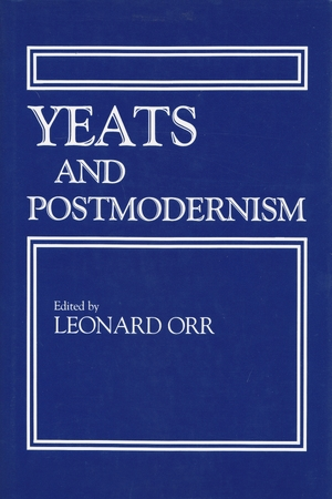 Cover for the book: Yeats and Postmodernism