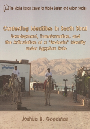 Cover for the book: Contesting Identities in South Sinai