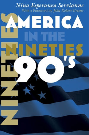 Cover for the book: America in the Nineties