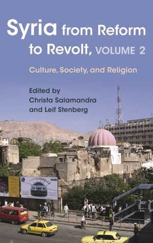 Cover for the book: Syria from Reform to Revolt