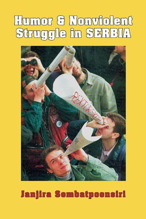 Cover for the book: Humor and Nonviolent Struggle in Serbia