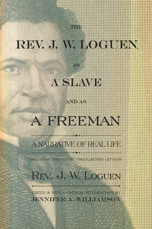 Cover for the book: Rev. J. W. Loguen, as a Slave and as a Freeman, The