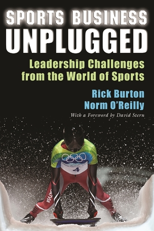 Cover for the book: Sports Business Unplugged