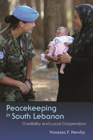 Cover for the book: Peacekeeping in South Lebanon