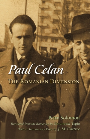 Cover for the book: Paul Celan