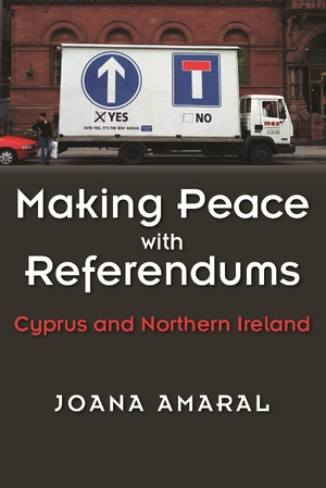 Cover for the book: Making Peace with Referendums