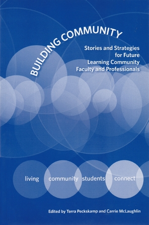 Cover for the book: Building Community