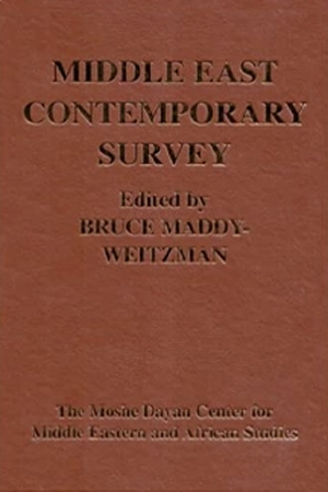 Cover for the book: Middle East Contemporary Survey