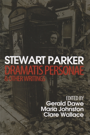 Cover for the book: Stewart Parker