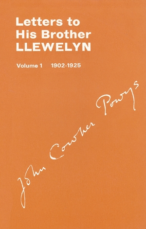 Cover for the book: Letters to His Brother Llewlyn
