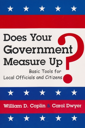 Cover for the book: Does Your Government Measure Up?