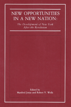 Cover for the book: New Opportunities in a New Nation