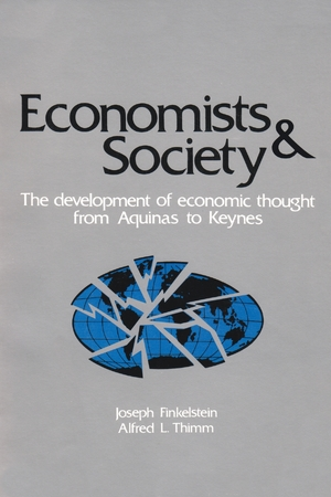 Cover for the book: Economists and Society