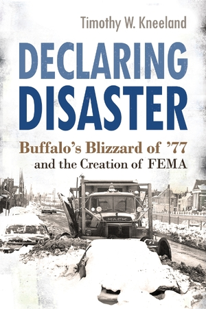 Cover for the book: Declaring Disaster
