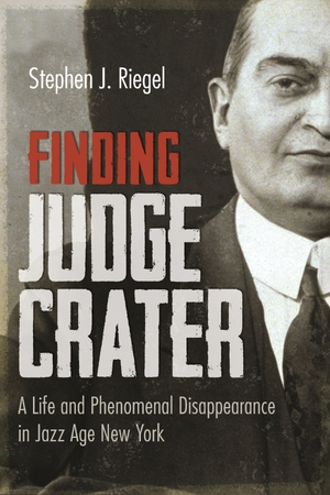 Cover for the book: Finding Judge Crater