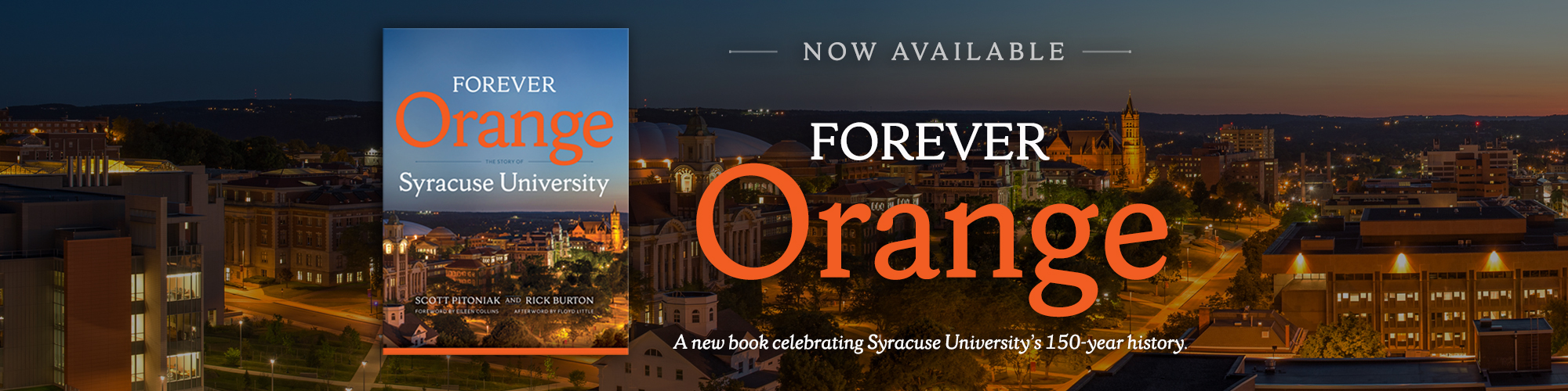 Alumni save 40% on Forever Orange now through June 30, 2020 with discount code 05SUP40