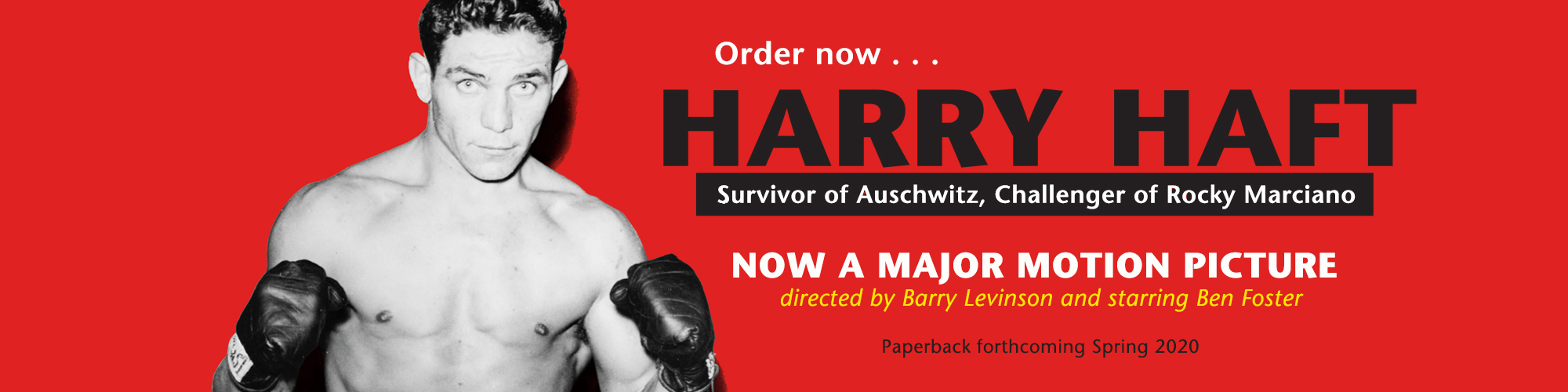 Harry Haft now a major motion picture