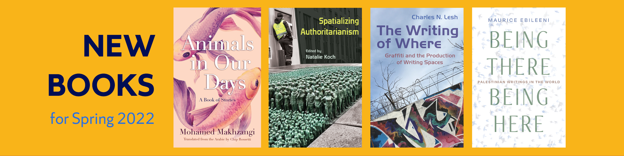 New books for Spring 2022